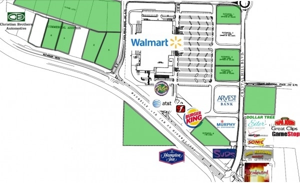 Listing Image #1 - Land for sale at Maumelle Boulevard, North Little Rock AR 72113
