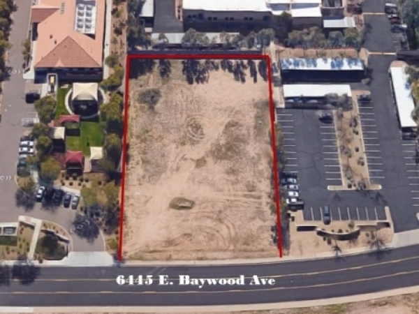 Listing Image #1 - Land for sale at 6445 E Baywood Ave, Mesa AZ 85206