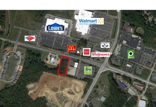 Listing Image #1 - Land for sale at Hwy 557, Clover SC 29710