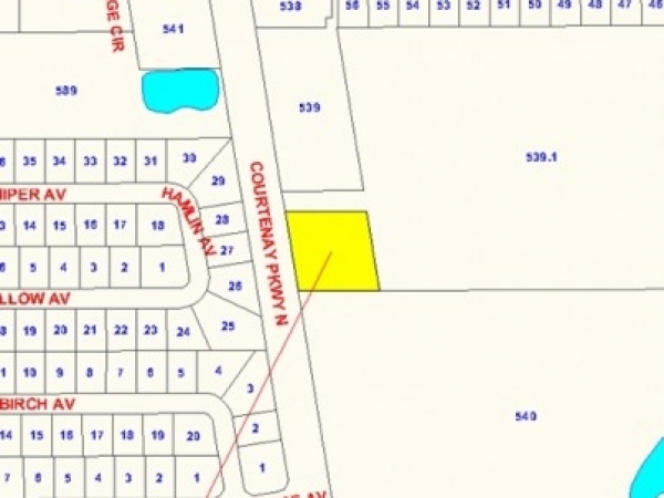 Listing Image #1 - Land for sale at 0 Courtenay Pkwy., Merritt Island  FL 32953