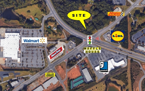 Listing Image #1 - Land for sale at Powder Springs Road & Barrett Parkway, Marietta GA 30064