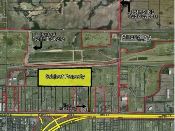 Listing Image #1 - Industrial for sale at SE 4TH AVE & 49TH ST, Minot ND 58701