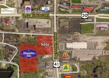 Listing Image #1 - Land for sale at 1904-1908 US Highway 41, Schererville IN 46375