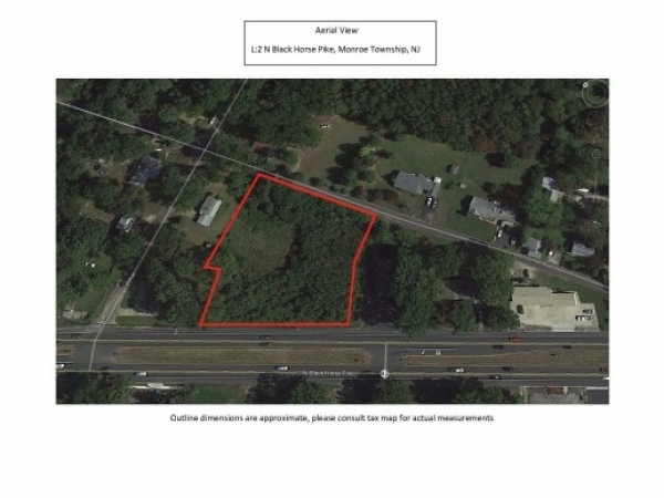 Listing Image #1 - Land for sale at L2 N Black Horse Pike, Monroe Township NJ 08094