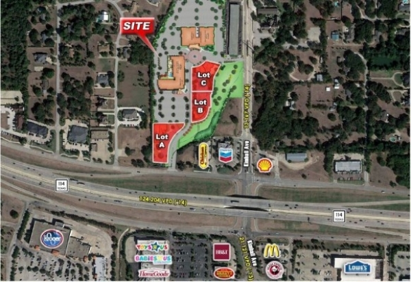 Listing Image #1 - Land for sale at 2114 State Hwy 114 Lot 2, Southlake TX 76092