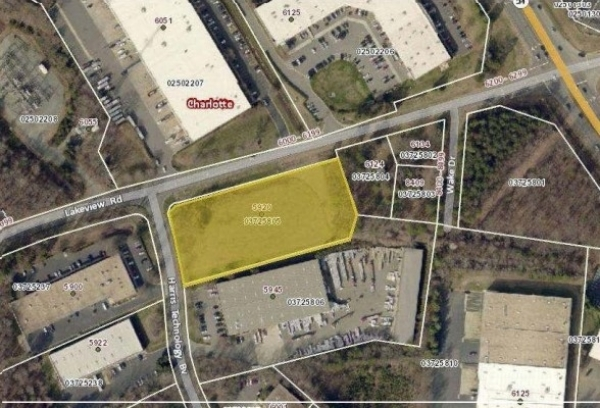 Listing Image #1 - Land for sale at 5920 Harris Technology Blvd, Charlotte NC 28269