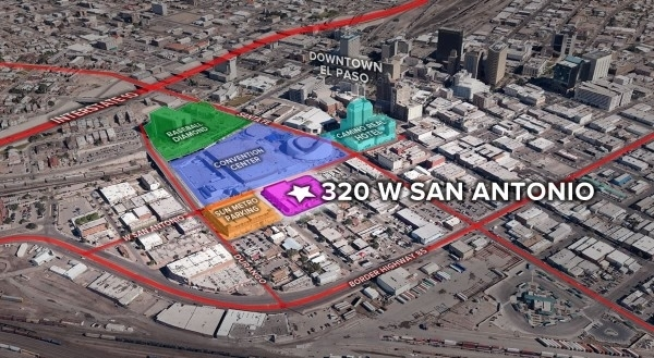 Listing Image #1 - Land for sale at 320 W. San Antonio, El Paso TX 79901