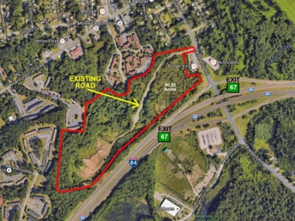 Listing Image #1 - Land for sale at 55 Reservoir Rd., Vernon CT 06066