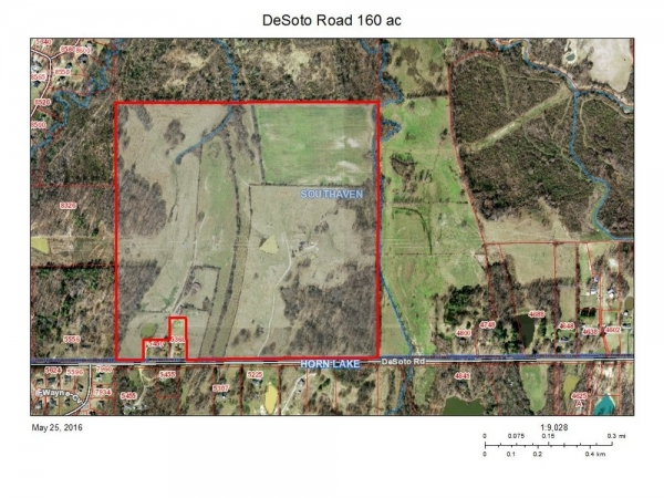 Listing Image #1 - Land for sale at DeSoto Road @ Horn Lake Rd, Southaven MS 38671