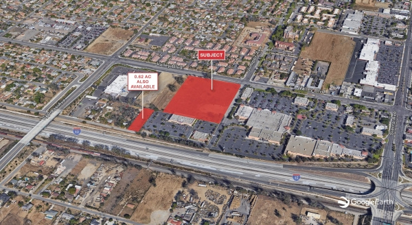 Listing Image #1 - Land for sale at 16655 Valley Blvd., Fontana CA 92335