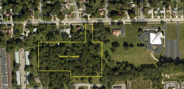 Listing Image #1 - Land for sale at 978 East Cross Street, Ypsilanti MI 48198