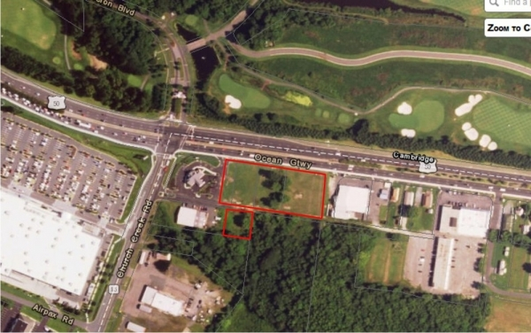 Listing Image #1 - Land for sale at 2809-2811 Ocean Gateway, Cambridge MD 21613