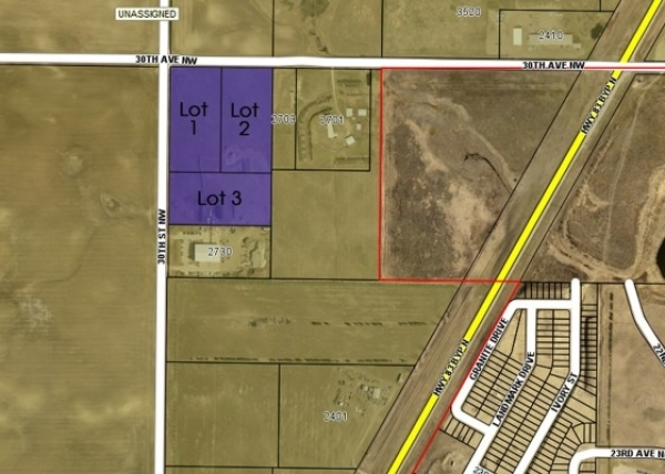 Listing Image #1 - Others for sale at Corner of 30th Ave NW and 30th St, Minot ND 58701