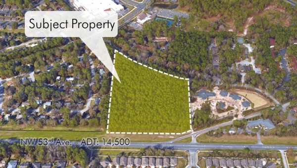 Listing Image #1 - Land for sale at 2100 NW 53rd Ave., Gainesville FL 32653