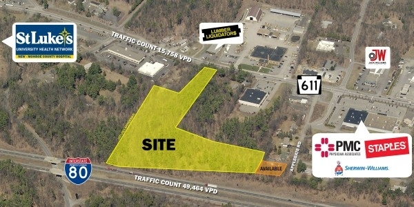 Listing Image #1 - Land for sale at RT 611, Stroudsburg PA 18360