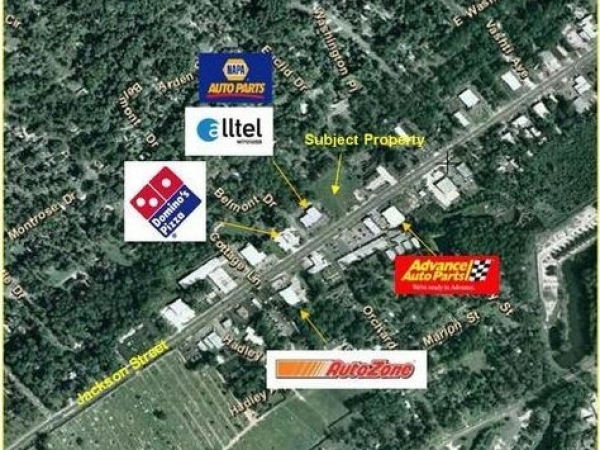 Listing Image #1 - Land for sale at 1101-1123 E. Jackson St, Thomasville GA 31792