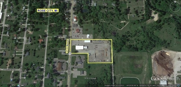 Listing Image #1 - Industrial for sale at 411 So. Bennett, Rose City MI 48654