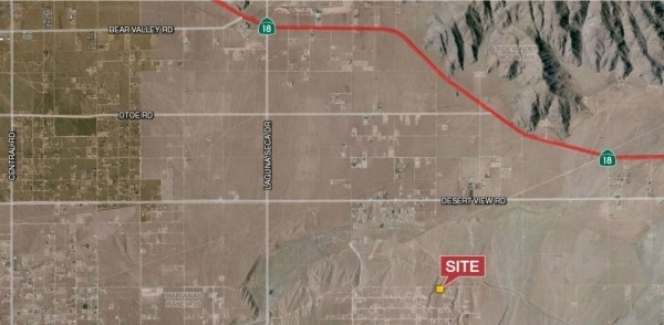 Listing Image #1 - Land for sale at Ocotillo Way, Apple Valley CA 92308