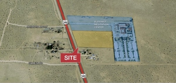 Listing Image #1 - Land for sale at Highway 395, Adelanto CA 92301