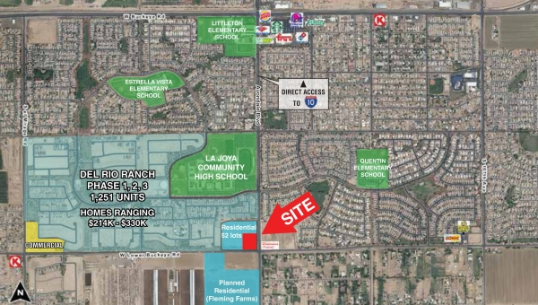 Listing Image #1 - Retail for sale at NWC Avondale Boulevard & Lower Buckeye Road, Avondale AZ 85323