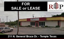 Retail for sale in Temple, TX