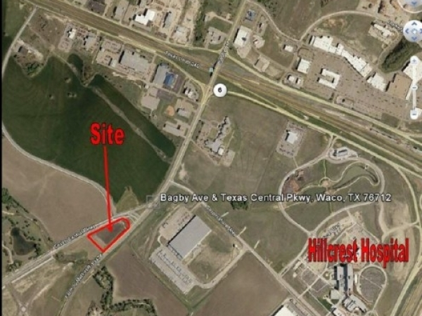 Listing Image #1 - Land for sale at Texas Central Parkway and Bagby, Waco TX 76712