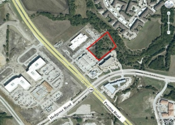 Listing Image #1 - Land for sale at 7926 Preston Road, Plano TX 75024