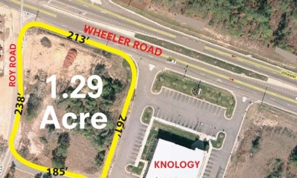 Listing Image #1 - Land for sale at 3722 Wheeler Rd, Augusta GA 30909