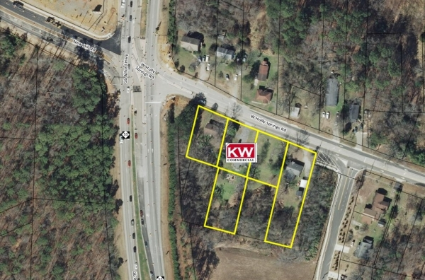 Listing Image #1 - Land for sale at 925-965 West Holly Springs Rd, Holly Springs NC 27540