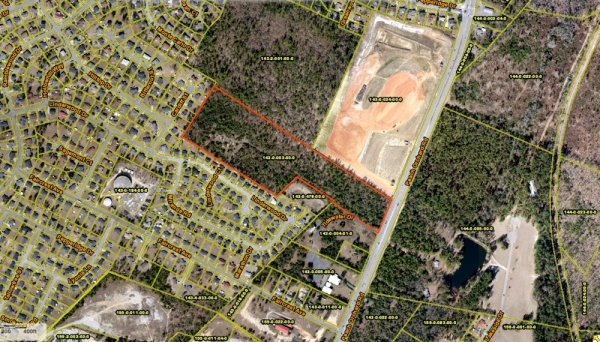 Listing Image #1 - Land for sale at 3557 Peach Orchard Road, Augusta GA 30906