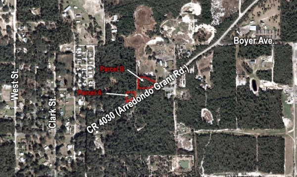 Listing Image #1 - Land for sale at 1455 Arredondo Grant Rd, De Leon Springs FL 32130