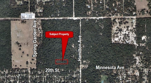 Listing Image #1 - Land for sale at Hamilton Ave., Orange City FL 32763