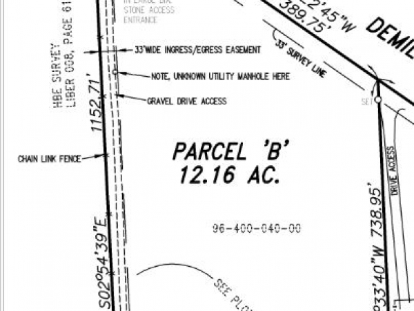 Listing Image #1 - Land for sale at 000 Demille, Lapeer MI 48446