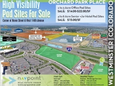 Land for sale in Westminster, CO