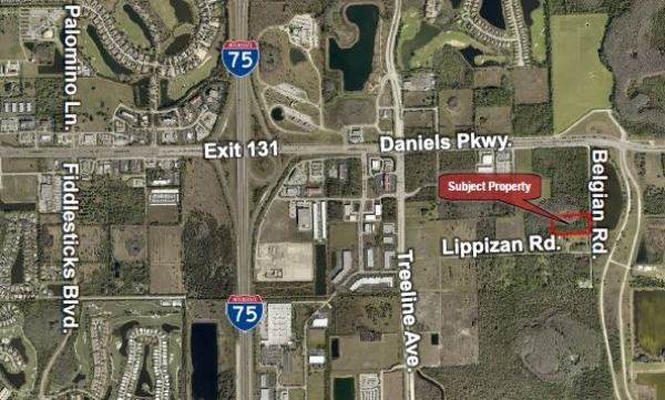 Listing Image #1 - Land for sale at 13700 Belgian Rd., Fort Myers FL 33913