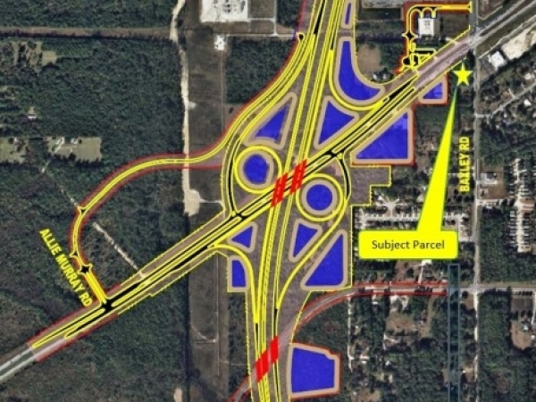 Listing Image #1 - Land for sale at 1544 Baxley Rd., Middleburg FL 32068