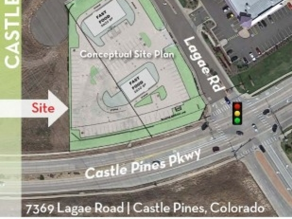 Listing Image #1 - Land for sale at 7369 Lagae Road, Castle Pines CO 80108