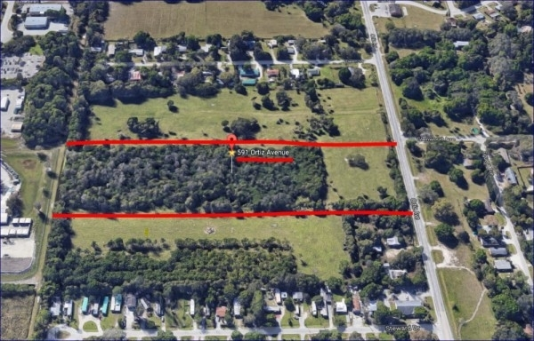Listing Image #1 - Land for sale at 591 Ortiz Avenue, Fort Myers FL 33905