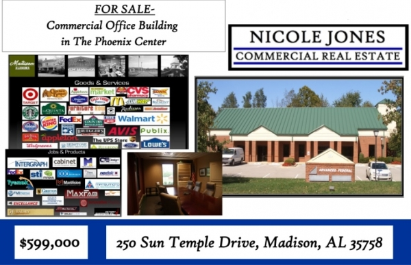 Listing Image #1 - Office for sale at 250 Sun Temple Dr., Madison AL 35758