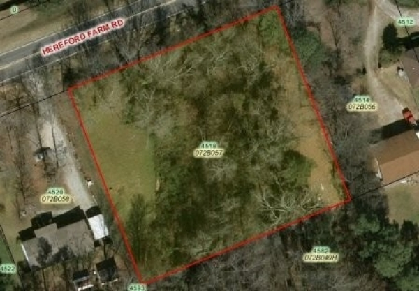 Listing Image #1 - Land for sale at 4518 Hereford Farm Rd, Evans GA 30809
