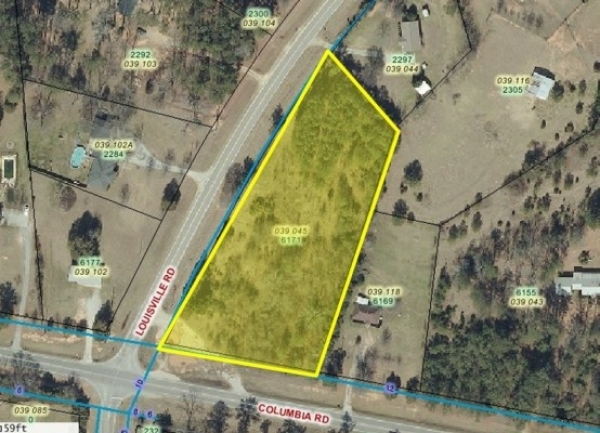 Listing Image #1 - Land for sale at 6171 Columbia Rd, Evans GA 30813