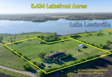 Land for sale in Little Elm, TX