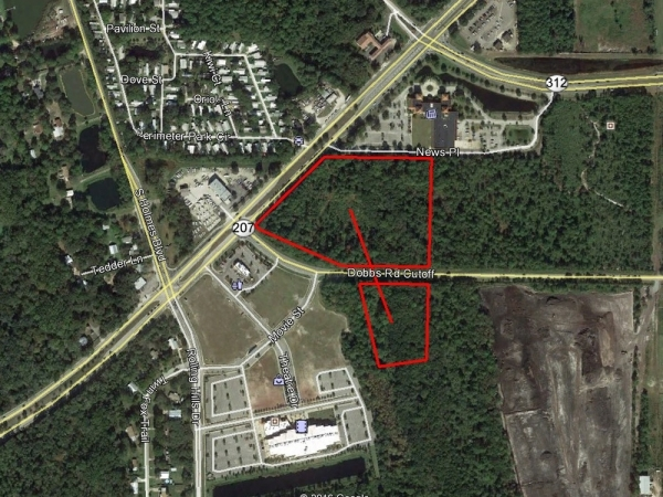 Listing Image #1 - Land for sale at SR-207 and Dobbs Road Cutoff, Saint Augustine FL 32084