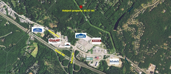 Listing Image #1 - Land for sale at T494 Frantz Road, Stroudsburg PA 18360
