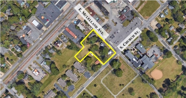 Listing Image #1 - Land for sale at 139-179 E. Mcllelland Avenue, Mooresville NC 28115