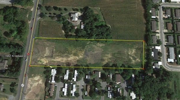 Listing Image #1 - Land for sale at 1957 N Delsea Dr, Vineland NJ 08360