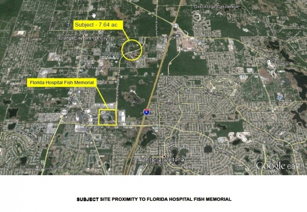 Listing Image #1 - Land for sale at Veterans Memorial Pky, Orange City FL 32763