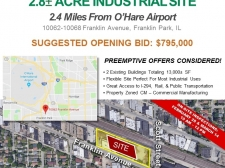 Listing Image #1 - Industrial for sale at 10062-10068 Franklin Avenue, Franklin Park IL 60131