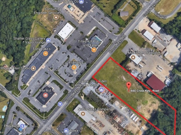 Listing Image #1 - Land for sale at 660 Cross Keys Rd, Sicklerville NJ 08081