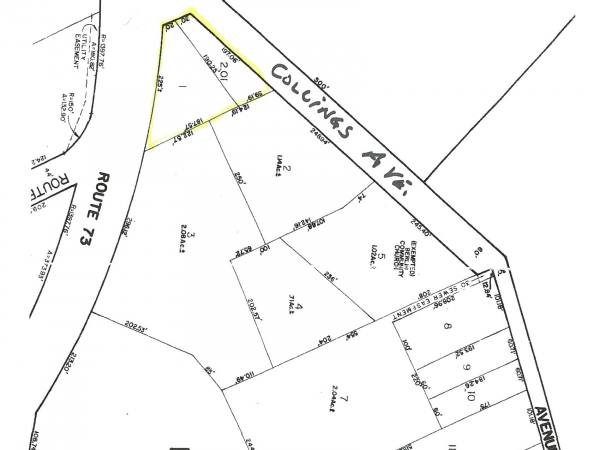 Listing Image #1 - Land for sale at 801 S. Route 73, West Berlin NJ 08091